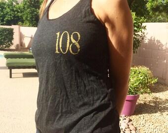 108 Threefold Yantra Women's Tank Top