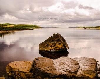 Kielder Water Canvas, Northumberland, England, Photography, Nature