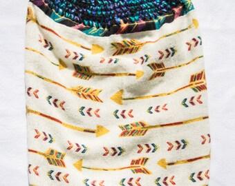 Arrow Towel - Crochet Top