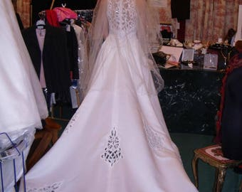 WEDDING dress GORGEOUS Sylphide and his long tail