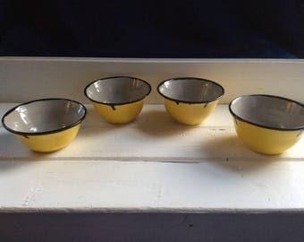 Set of Four Ceramic Bowls