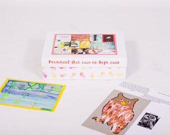 Personalised School Memory Keepsake Box