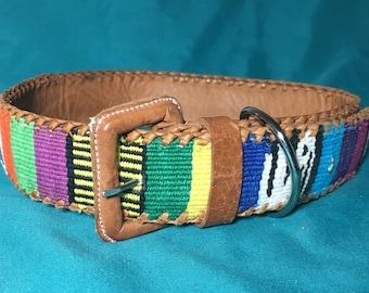 Pupcycled Large Sahara Dog Collar