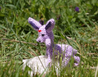 Crocheted Espeon Plushie