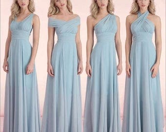 Bridesmaid convertible dress-Mint Green-Size12