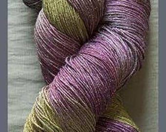 Blue Heron Rayon Metallic yarn - Dusk