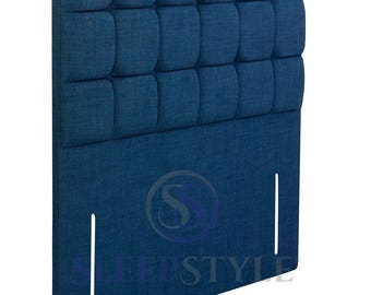 """4FT6 50"""" High Double Brooklyn Upholstered Headboard - Choose Any Fabric"""