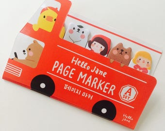 Cute Animal Sticky Notes - Page Markers