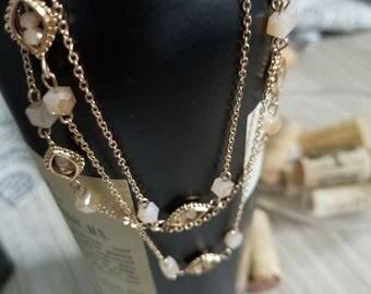 Dainty Three Layered Necklace