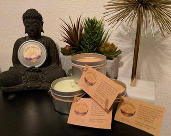 All Natural Soy Candles.