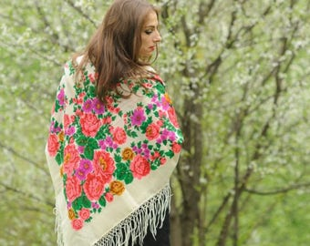 "Vintage shawl ""Pure beauty"""