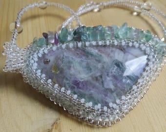 Witch's amulet (Pendant fluorite)
