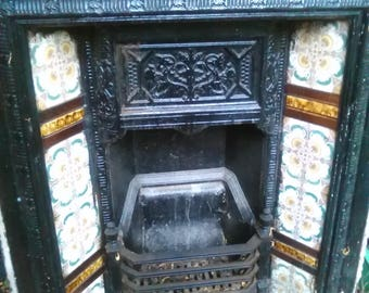Pretty Edwardian fireplace