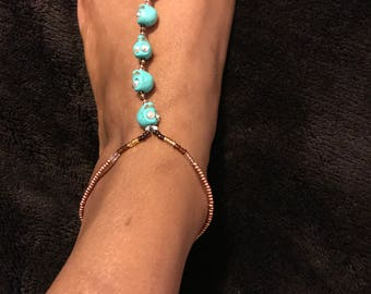 Skull Barefoot Sandal