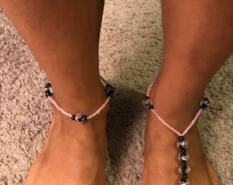Pink Passion Barefoot Sandal