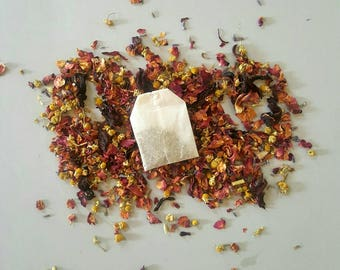 Relaxing Floral Bath Tea, Soak