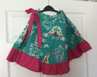 Girls  Full Circle  Butterfly  Skirt
