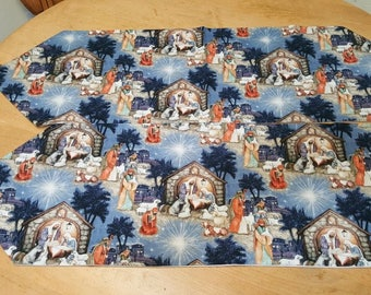 2 Nativity Table runners