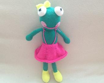 Crochet Frog