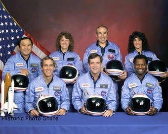 Challenger Space Shuttle Flight Crew