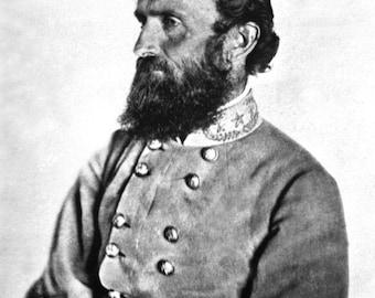 """CSA Confederate General Thomas Jonathan """"Stonewall"""" Jackson"""