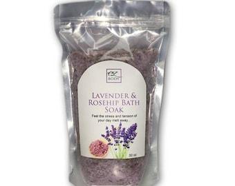 Lavender & Rosehip Bath Salts