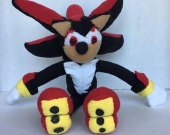 Shadow the Hedgehog - handmade  plush