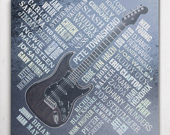 Guitar Legends Canvas