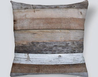 Pillow cover - Wood Board