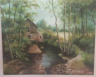 Landscape Acrylic painting