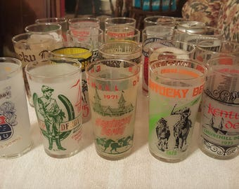 Kentucky Derby Mint Julep Collectors glasses