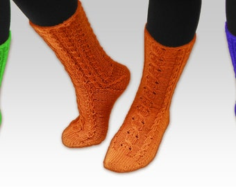 Hand Knitted long socks