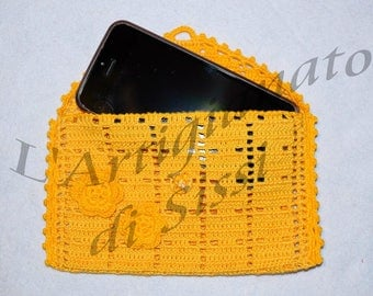 Crochet cell door sizes medium and large, well decorated and customizable