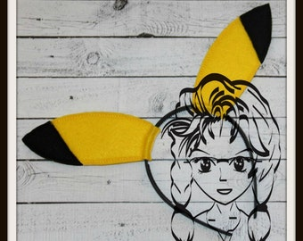 RODENT EARs ~ (2 Piece) Character Inspired Headband ~ In the Hoop ~ Downloadable DiGiTaL Machine Emb Design by Carrie