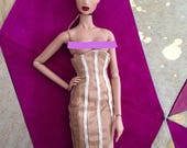 SALE ITEM High waisted corset skirt for FR Fashion Royalty dolls