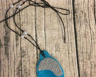Moana Inspired Heart of Te Fiti Necklace, Moana Inspired Necklace, Hawaiian Princess Necklace, Moana Costume, Moana Cosplay, Moana Jewelry