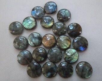 DESTASH - Labradorite Round 20mm Beads