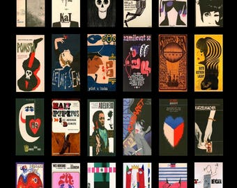 Modern Art No. 2 Domino - 1x2 - Digital Collage Sheet - Instant Download