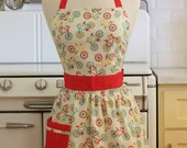 Retro Apron Bicycles - CHLOE