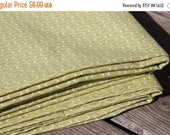 50% OFF- Green Oval Fabric-Reclaimed Fabric-Modern