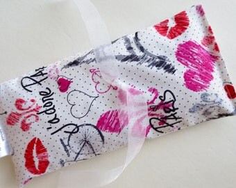 """Lavender Eye Passion Pillow-- Soothe your mind, Empower your passion...""""PARIS""""  FREE SHIPPING"""