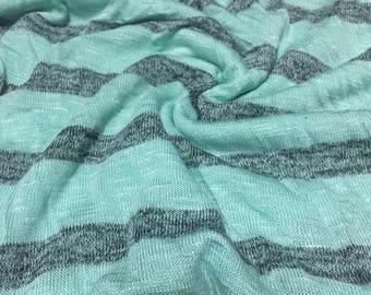 Stretch Hacci Knit Stripes 1 Yard