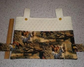 Wild Horses Print Walker Bag Tote