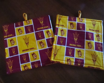 Pot holder, ASU, hot pad, baking, oven, trivet, kitchen and dining, home and living, housewares, table, dining room, kitchen, patio