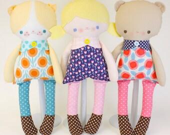 SALE BFFs Dolls PDF Pattern
