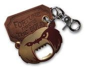 The Gentleman's Bottle Opener & key ring - Grizzly Bear