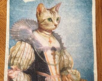 Trivet, Her Majesty, the Cat