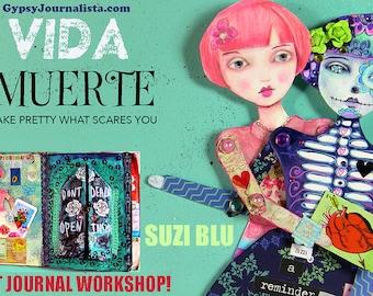 DOTD Interactive Art Journal Playshop with Suzi Blu