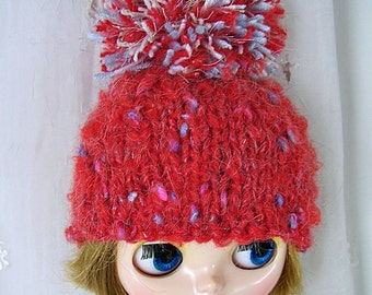 Hat for Blythe Doll, Red
