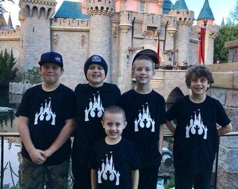 Star Wars Disneyland Castle Unisex Kids Shirt
